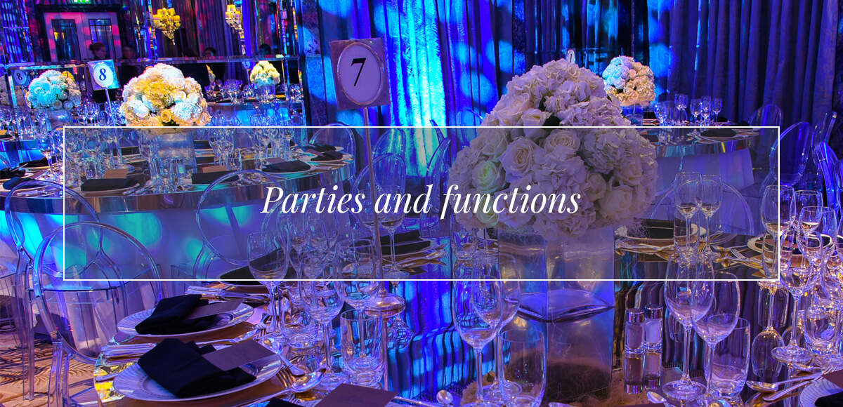 Parties & Functions