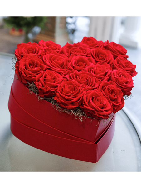 Picture of Red Rose Heart