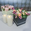 Picture of Artificial Flowers Hat Box