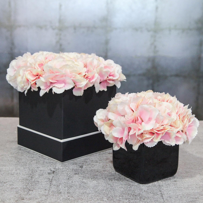 Burgeon Floral Design Artificial Flowers Hat Box