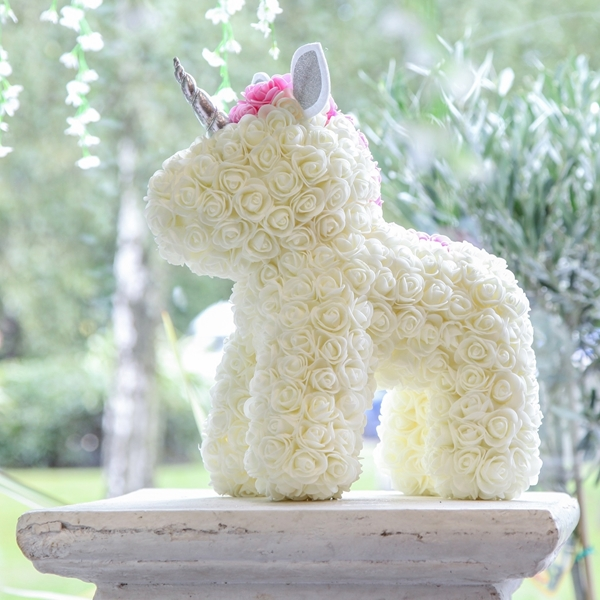 Picture of White Flower Unicorn