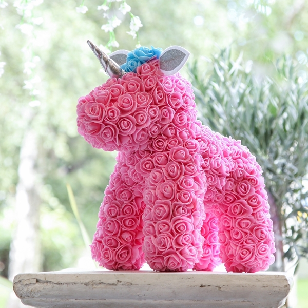 Picture of Pink Flower Unicorn