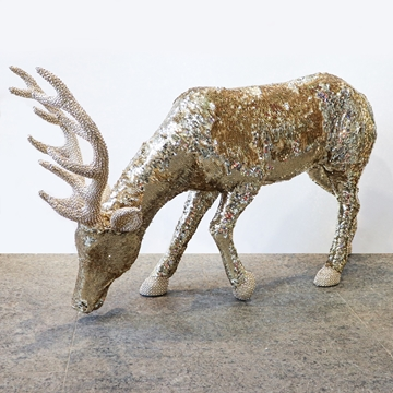 Picture of Large Gold Reindeer