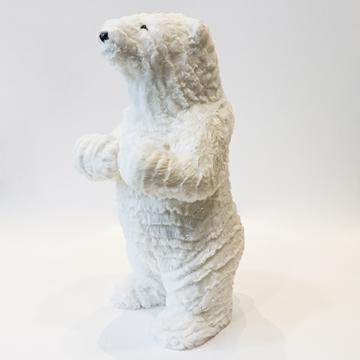 Picture of White Glitter Polar Bear