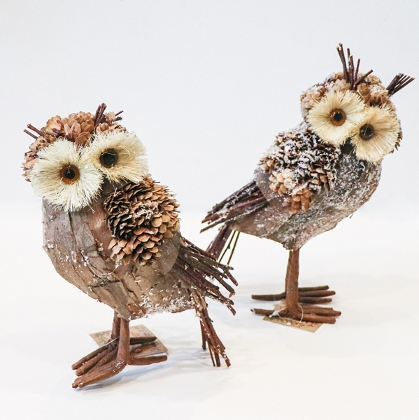 Picture of Decorative Twig Owls