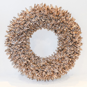 Picture of Gold Leaf Wreath