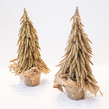 Picture of Small Gold Glitter Tree