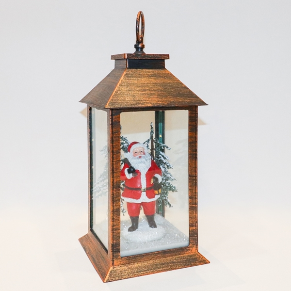 Picture of Father Christmas Lantern