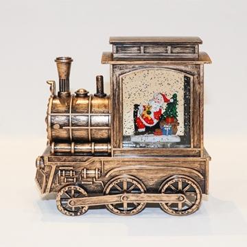 Picture of Santa copper train