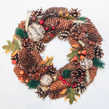 Picture of Traditional Cone Wreath
