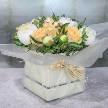 Picture of Peach Hatbox