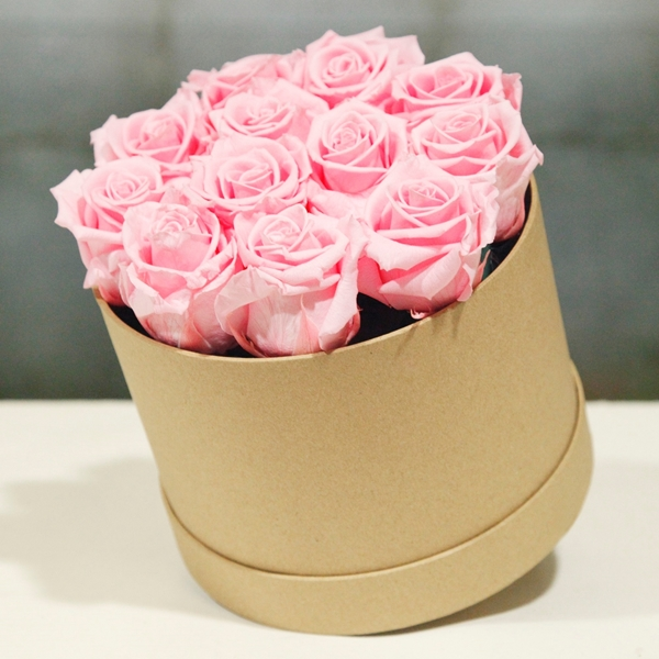 Picture of Pink Round Hatbox