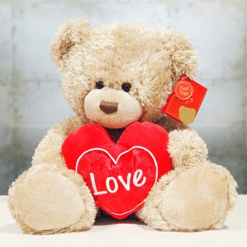 Picture of Brown Bear With Heart