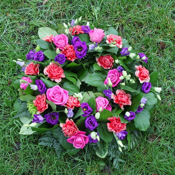 Picture of Pink/Purple Sympathy Wreath